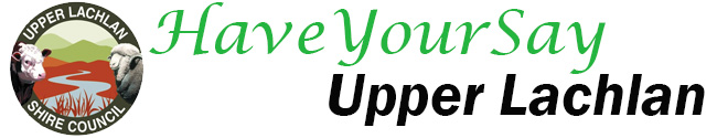 Have Your Say Upper Lachlan